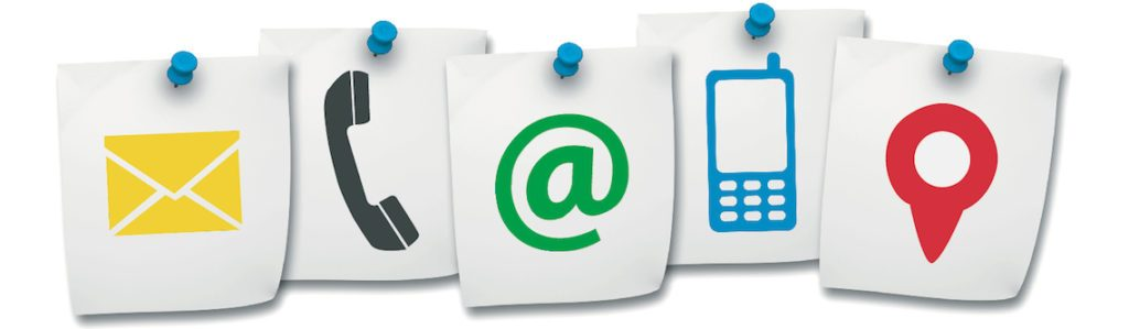 The different ways to contact Webologist.