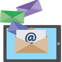 Image of email marketing.